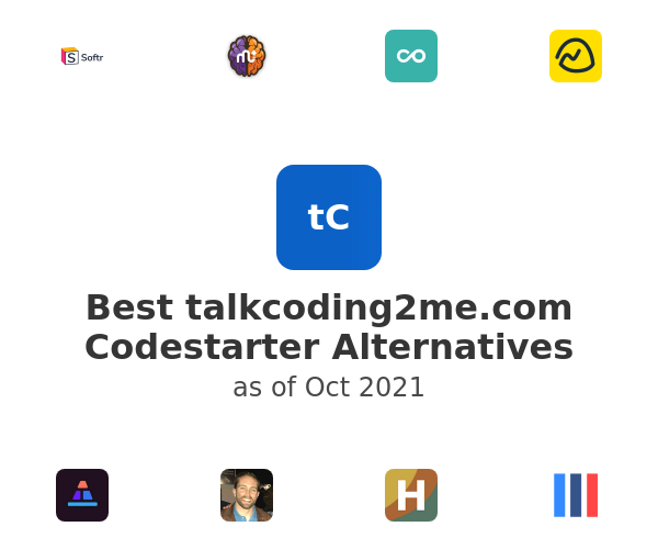 Best Codestarter Alternatives