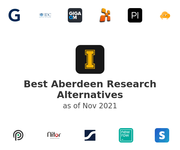 Best Aberdeen Research Alternatives