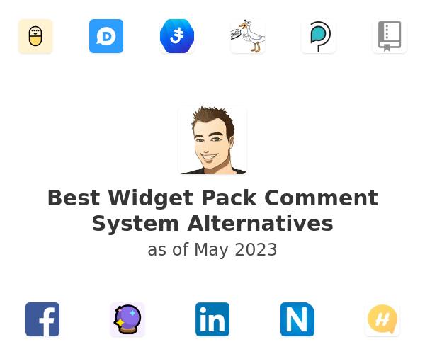 Best Widget Pack Comment System Alternatives