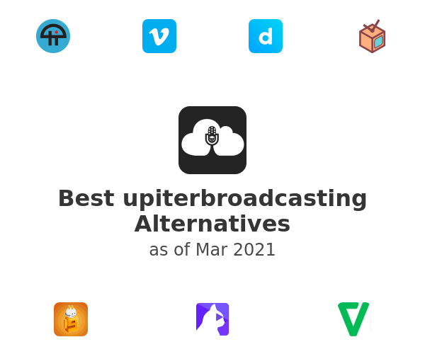 Best upiterbroadcasting Alternatives