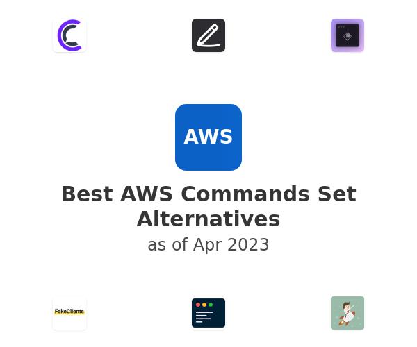 Best AWS Commands Set Alternatives