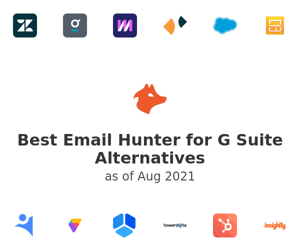 Best Email Hunter for G Suite Alternatives