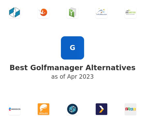 Best Golfmanager Alternatives