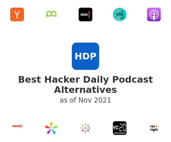 Best Hacker Daily Podcast Alternatives