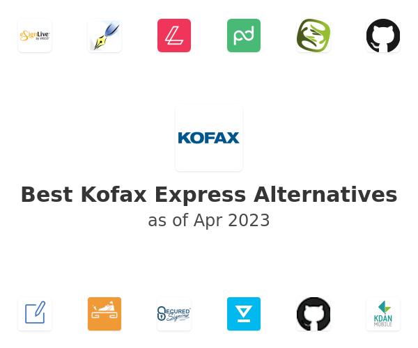 Best Kofax Express Alternatives
