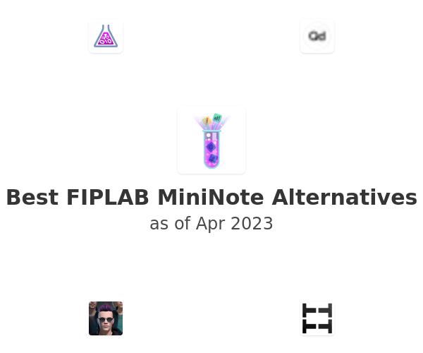 Best FIPLAB MiniNote Alternatives