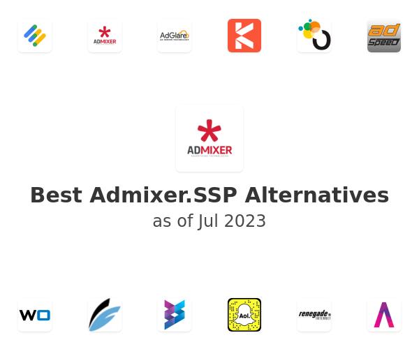 Best Admixer.SSP Alternatives