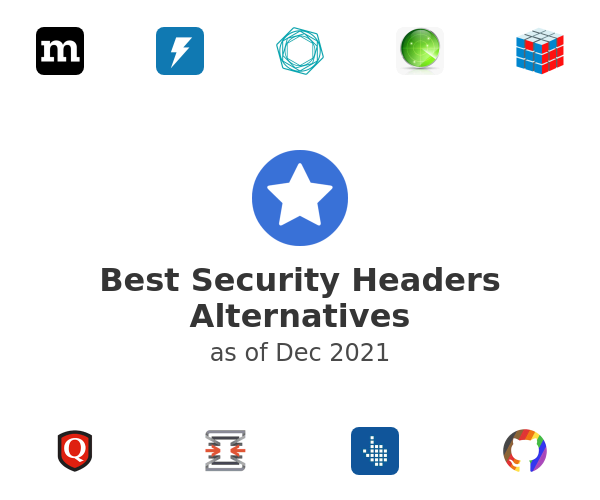 Best Security Headers Alternatives