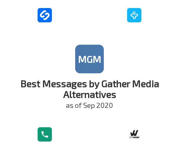 Best Messages by Gather Media Alternatives