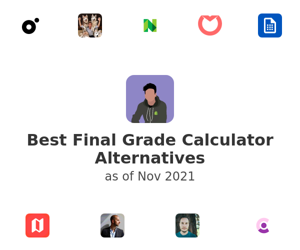 Best Final Grade Calculator Alternatives