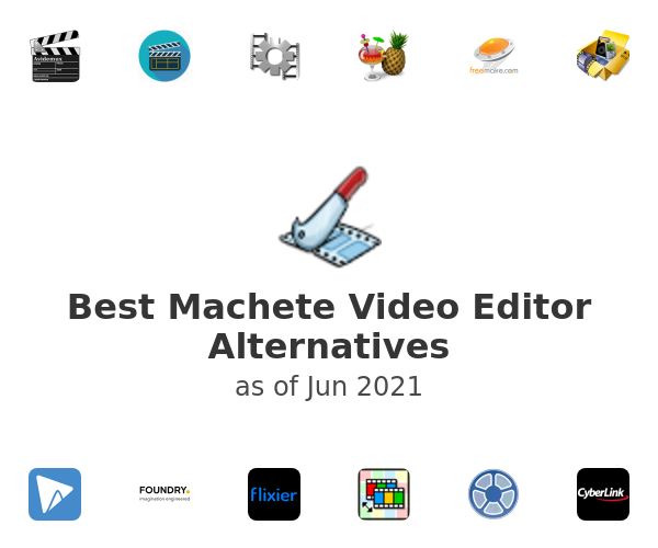 Best Machete Video Editor Alternatives