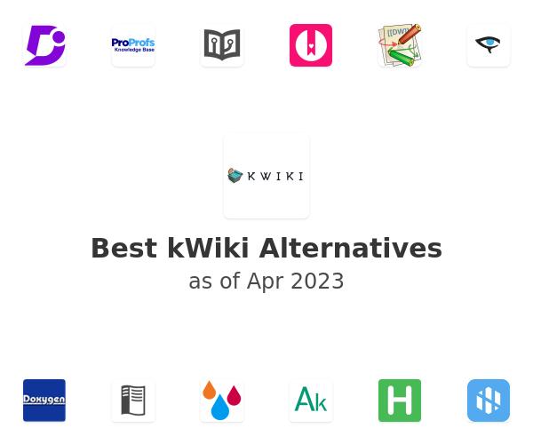 Best kWiki Alternatives