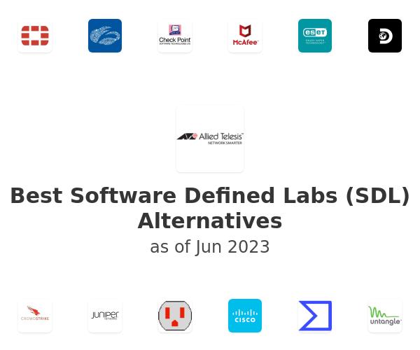 Best Software Defined Labs (SDL) Alternatives