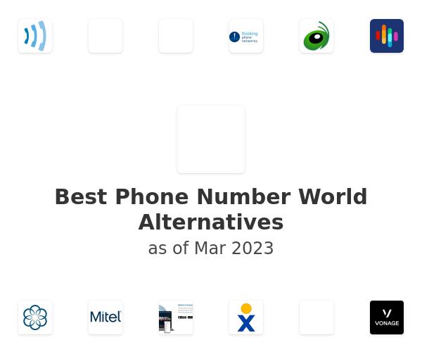 Best Phone Number World Alternatives