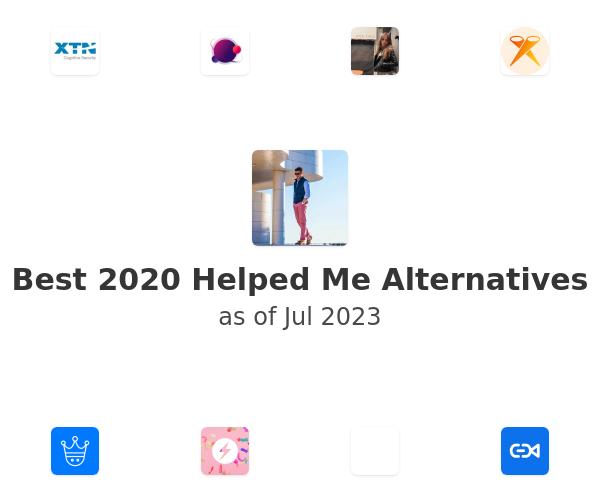 Best 2020 Helped Me Alternatives