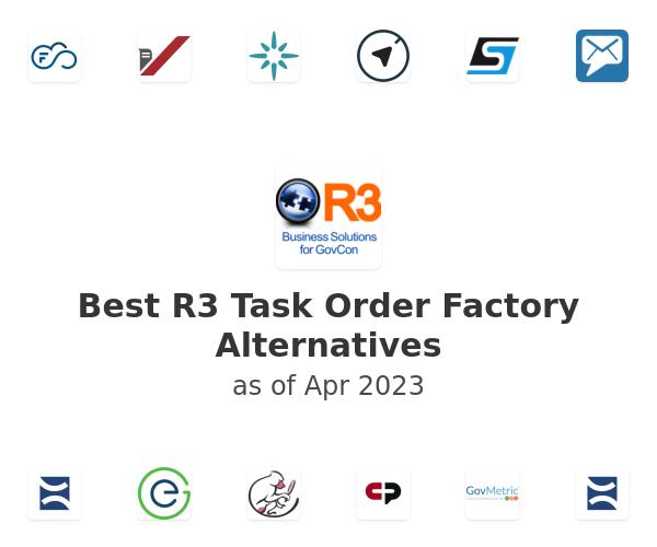 Best R3 Task Order Factory Alternatives