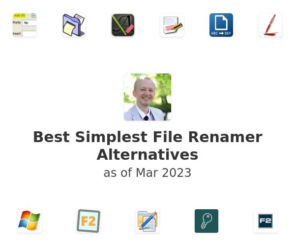 Best Simplest File Renamer Alternatives