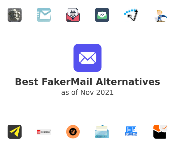 Best FakerMail Alternatives