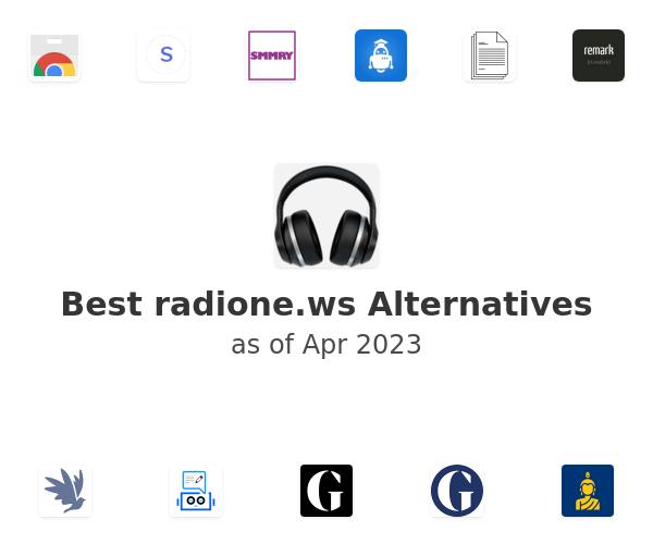 Best radione.ws Alternatives