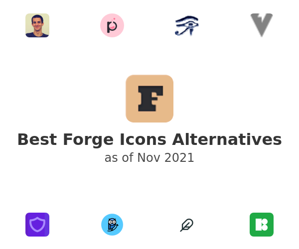 Best Forge Icons Alternatives