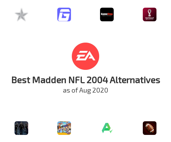 Best Madden NFL 2004 Alternatives