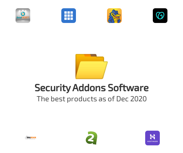 Security Addons Software