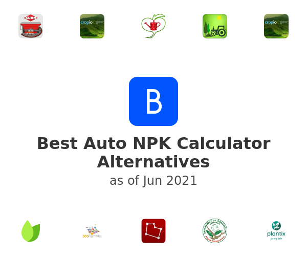 Best Auto NPK Calculator Alternatives