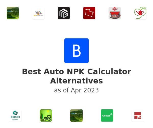Best Auto NPK Calculator Alternatives