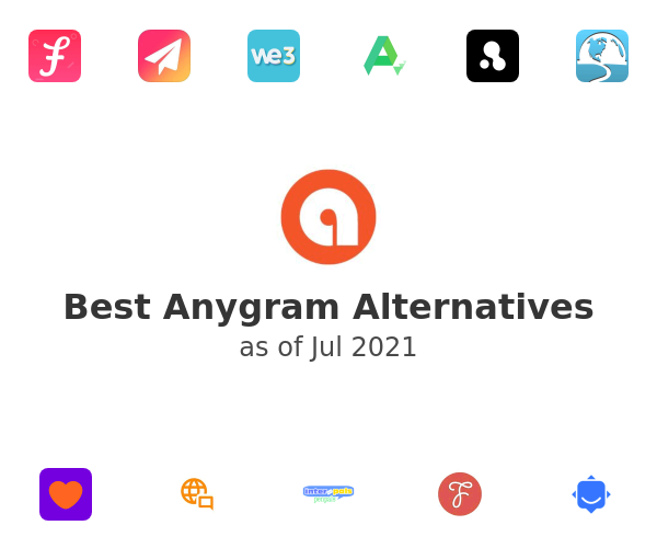 Best Anygram Alternatives