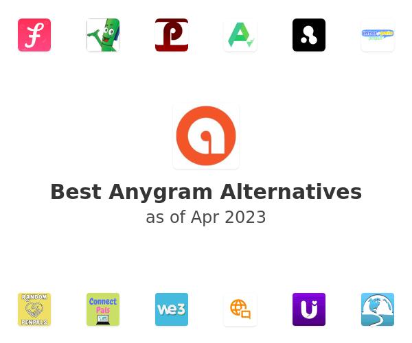 Best Anygram Alternatives