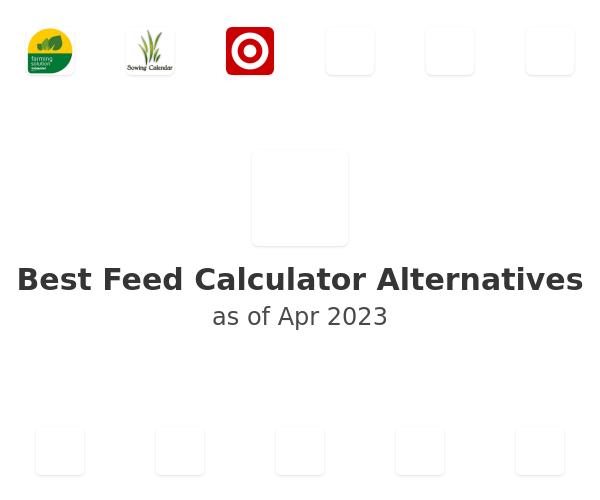 Best Feed Calculator Alternatives