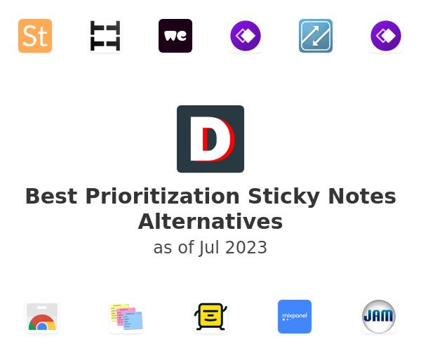 Best Prioritization Sticky Notes Alternatives