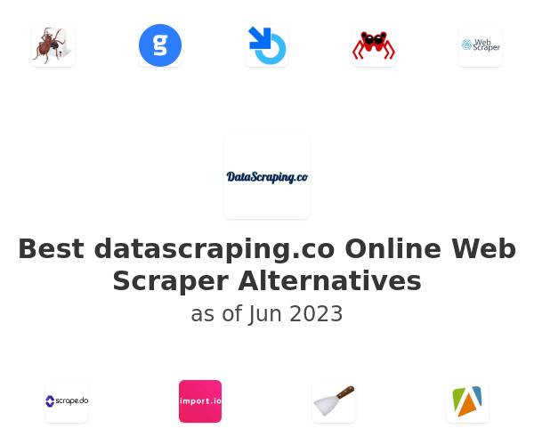 Best Online Web Scraper Alternatives