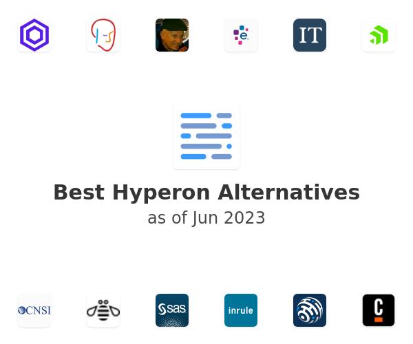 Best Hyperon Alternatives