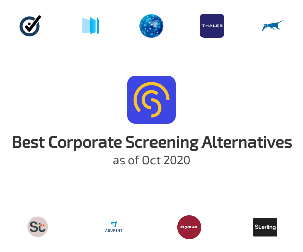 Best Corporate Screening Alternatives