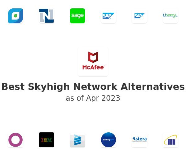 Best Skyhigh Network Alternatives
