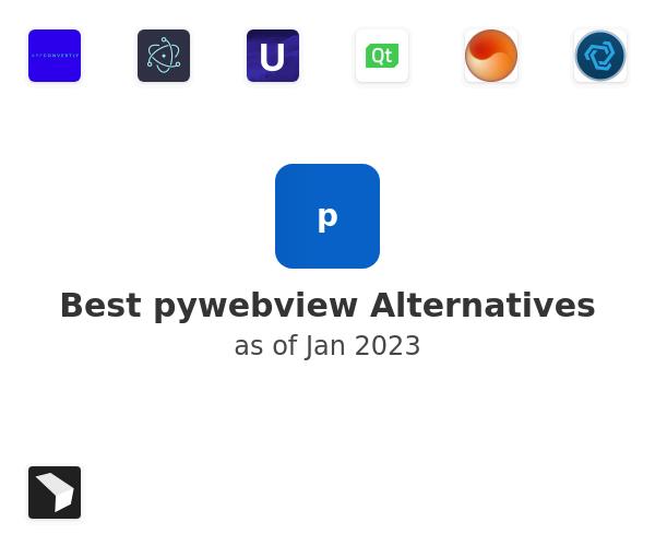 Best pywebview Alternatives