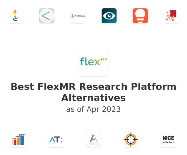 Best FlexMR Research Platform Alternatives