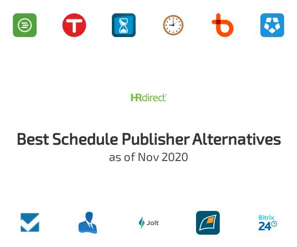 Best Schedule Publisher Alternatives