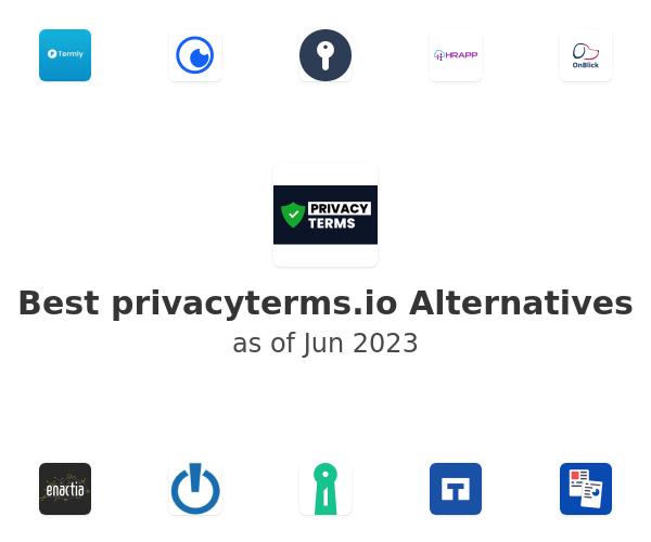 Best privacyterms.io Alternatives