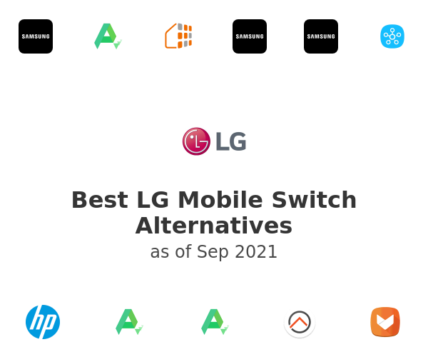Best LG Mobile Switch Alternatives