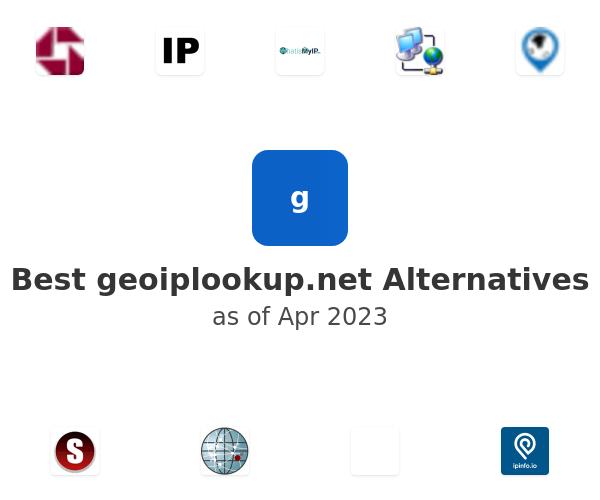 Best geoiplookup.net Alternatives