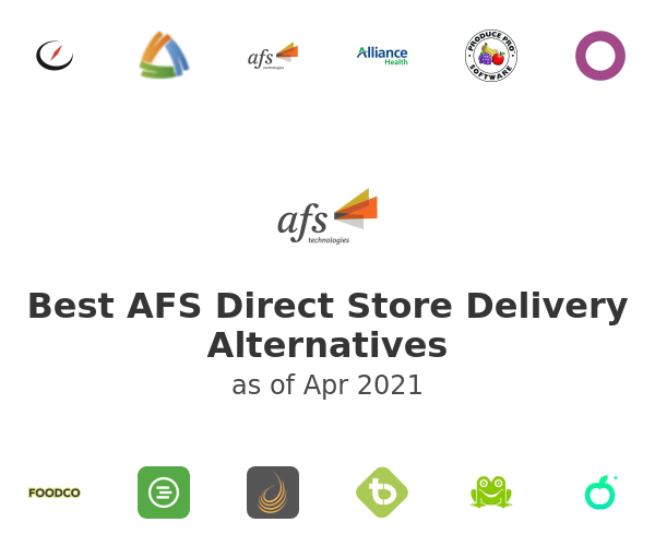 Best AFS Direct Store Delivery Alternatives