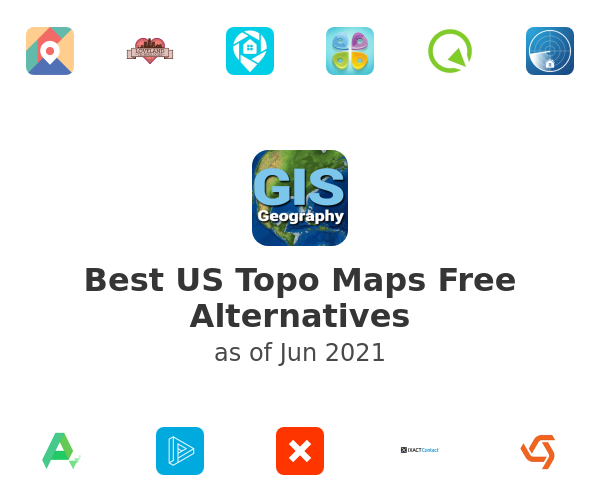 Best US Topo Maps Free Alternatives