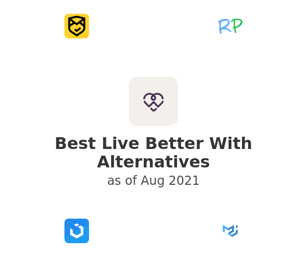 Best Live Better With Alternatives