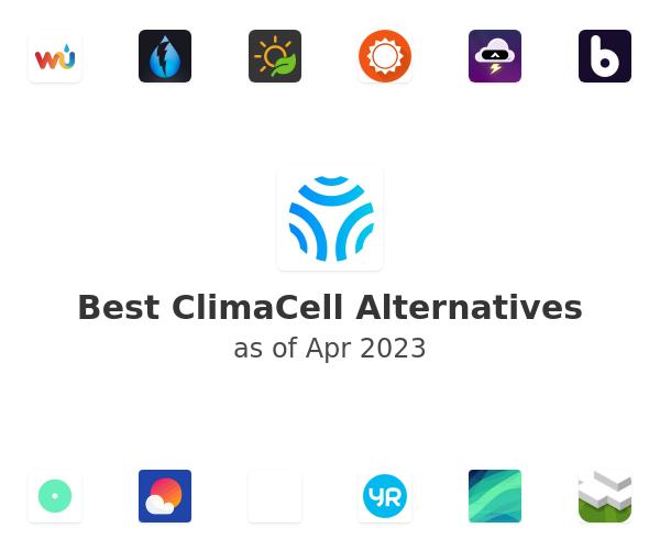 Best ClimaCell Alternatives