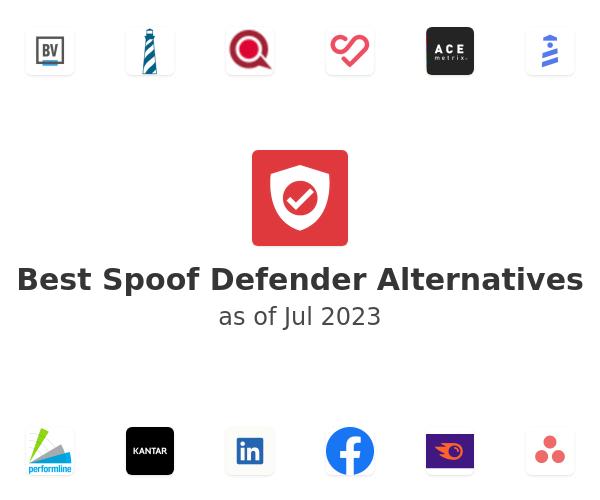 Best Spoof Defender Alternatives