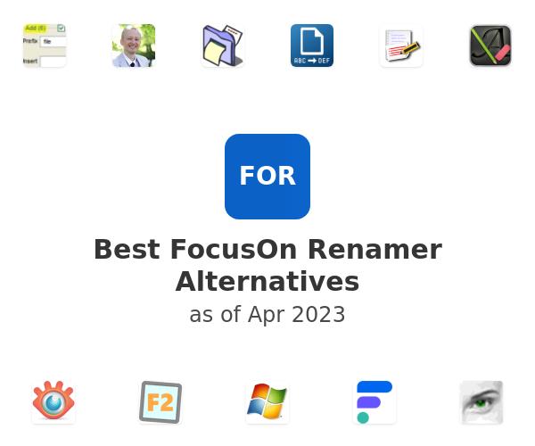 Best FocusOn Renamer Alternatives