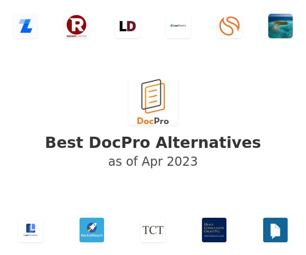Best DocPro Alternatives