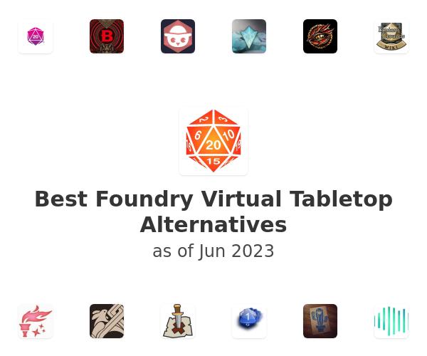 Best Foundry Virtual Tabletop Alternatives